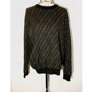 Pronto Uomo Slanted Striped Sweater